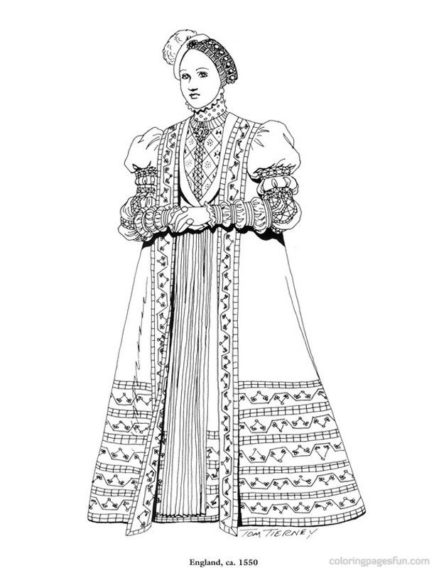 coloring pages for the renaissance - photo#15