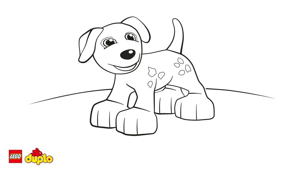 Lego Duplo Coloring Pages Coloring