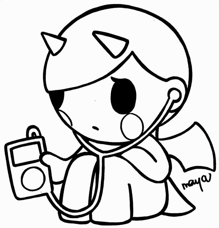 Tokidoki Coloring Pages - Coloring Home