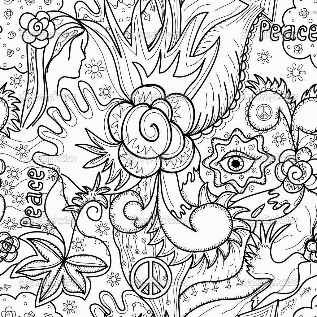 abstract animal coloring pages - photo#7