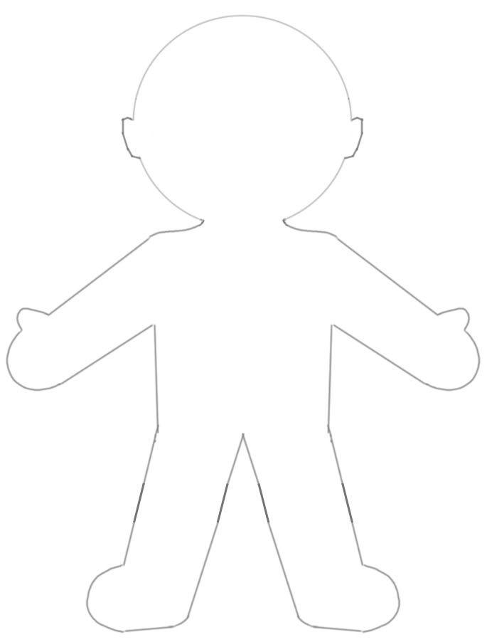 barbie body outline - photo #45
