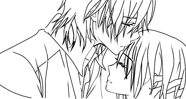 vampire knight zero coloring pages - photo#11