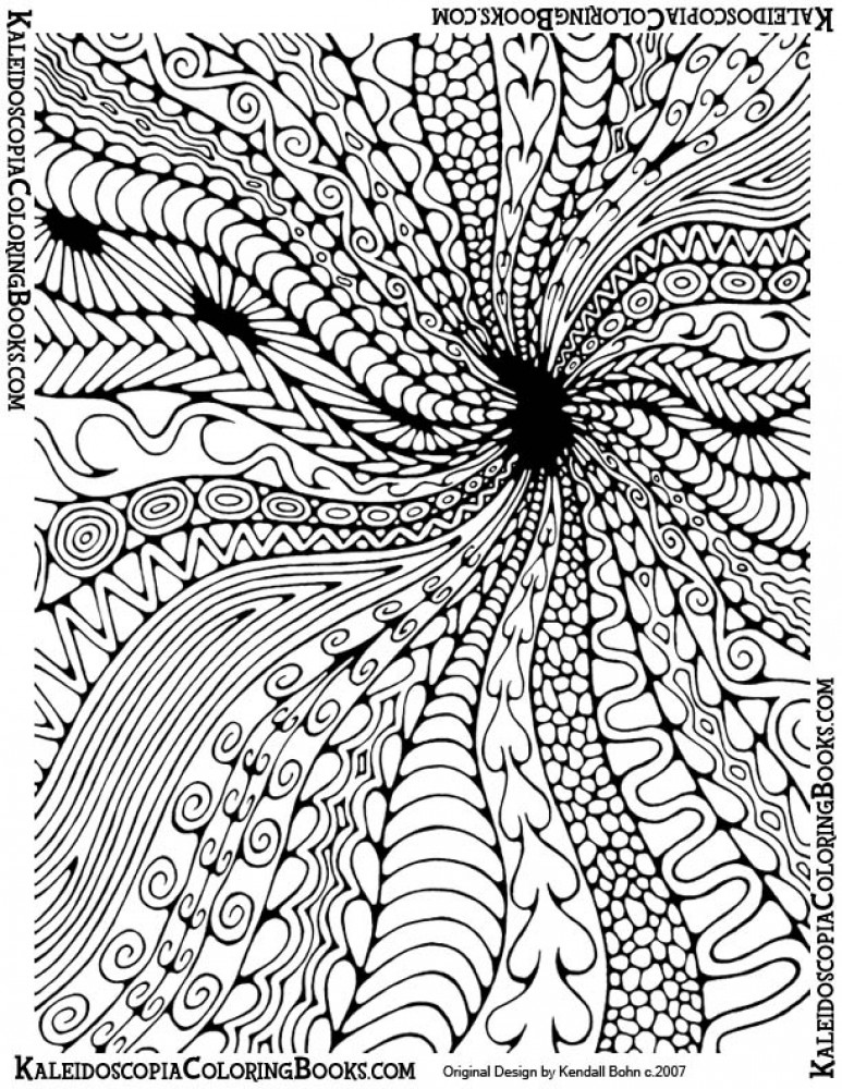 hard coloring pages for adults - photo#28