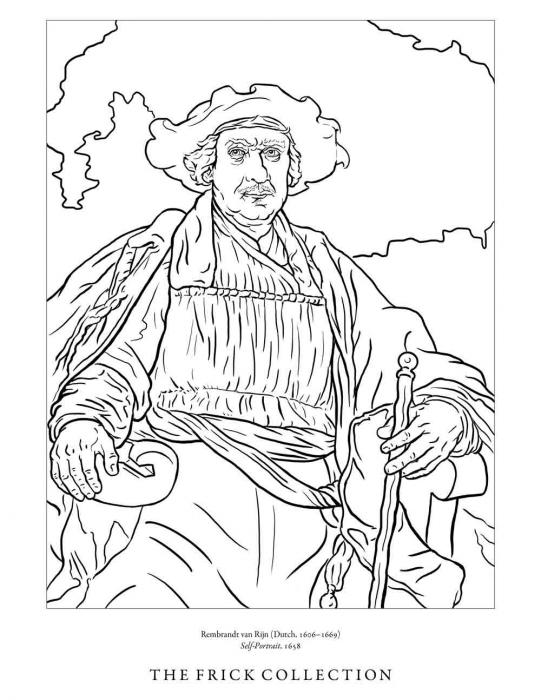 The Frick Collection Coloring Pages ...frick.org