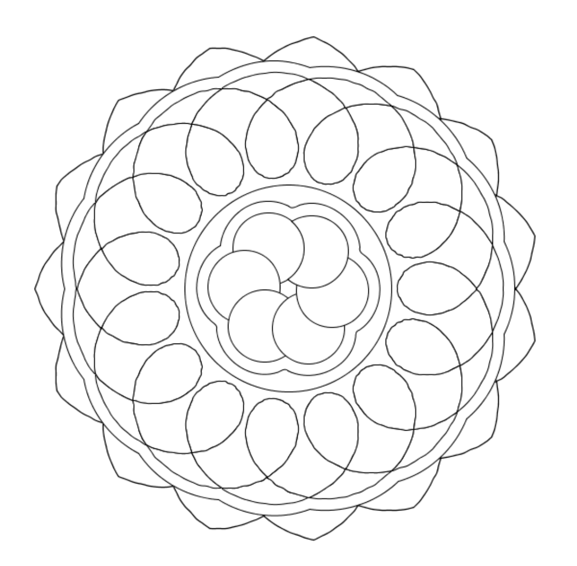 Easy Mandala Coloring Pages Mandala Coloring Pages Of Coloring Home