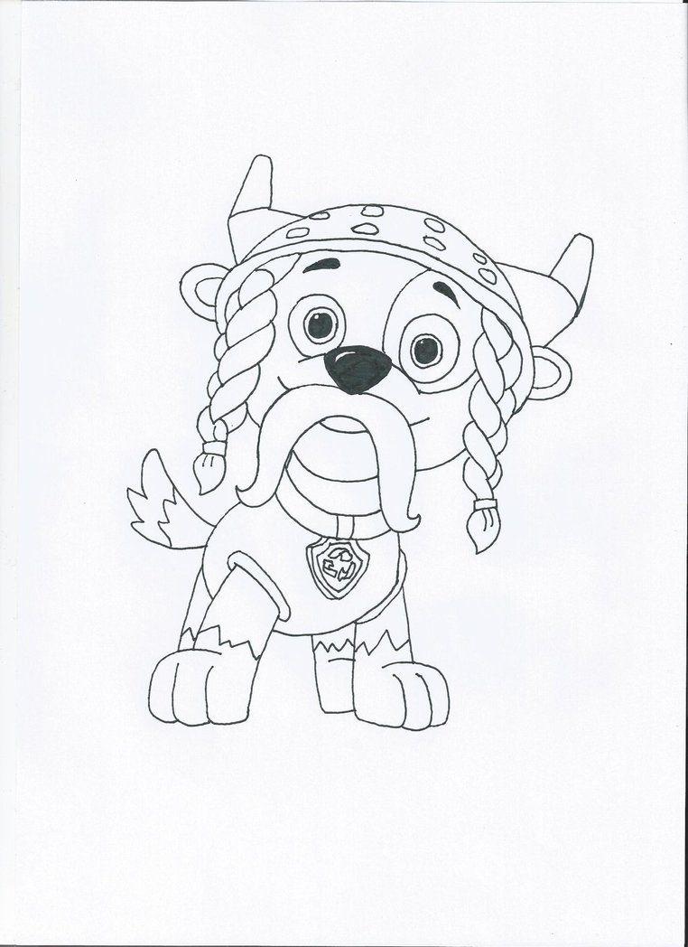 paw patrol marshall coloring page paw patrol halloween