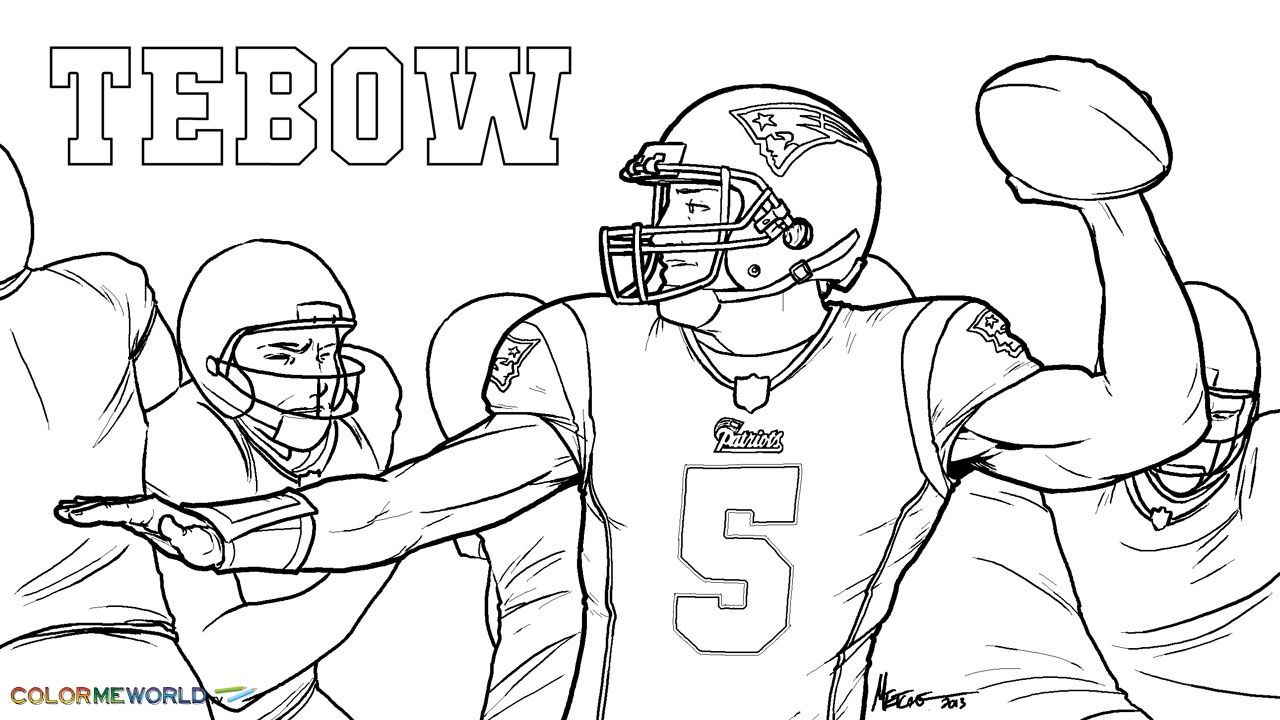 free nfl patriots coloring pages - photo#25