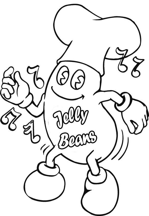 Coloring Pages Jelly Beans Az Coloring Pages. Mr Bean Coloring ...