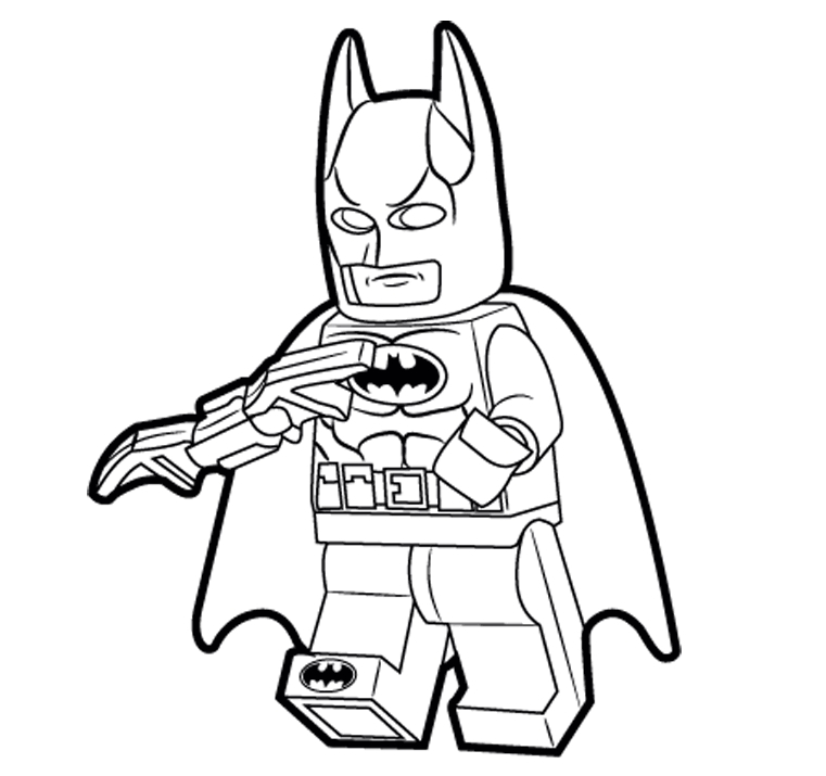 Lego Batman Coloring Pages Games Superhero Pinterest Lego Coloring