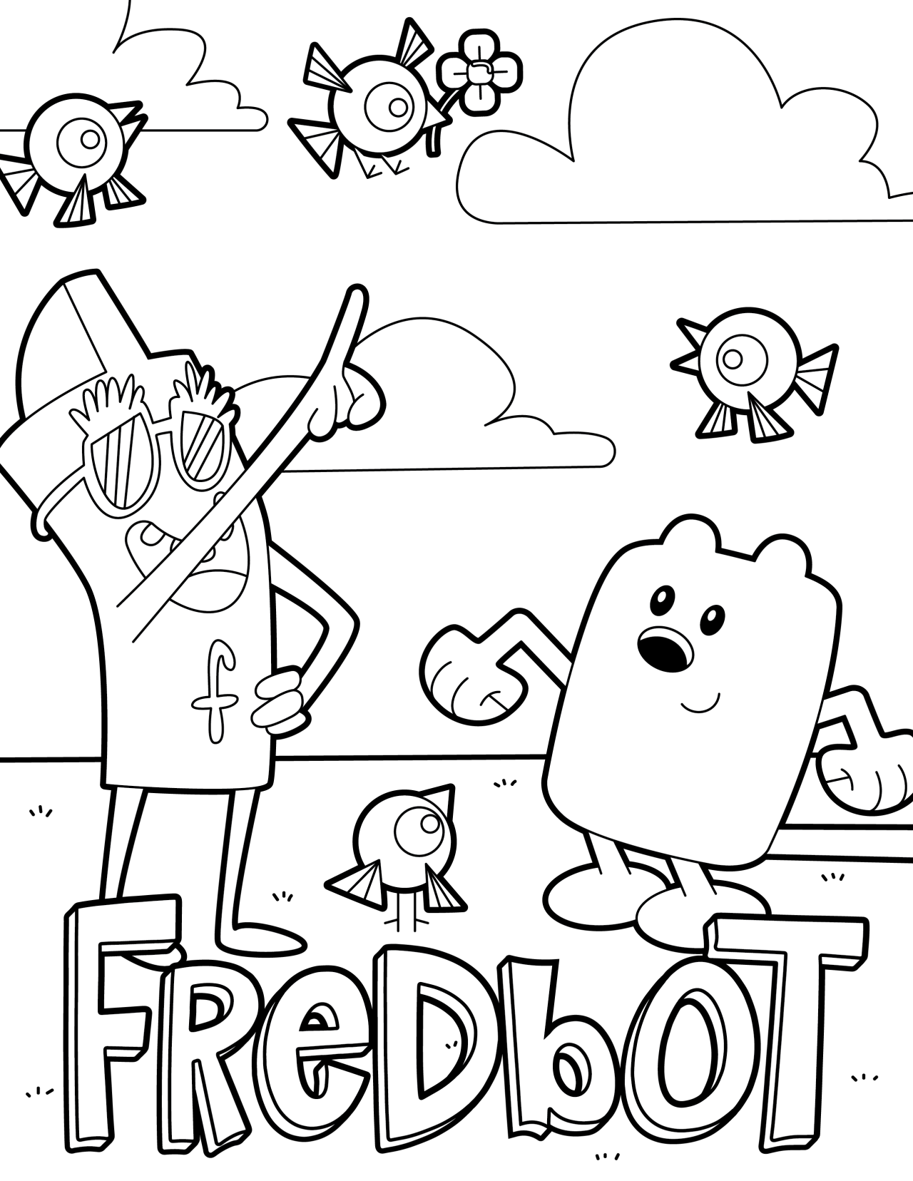 wubbzy coloring pages free - photo#14