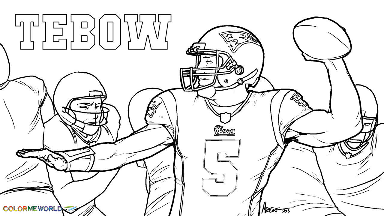 coloring pages of tom brady | Tom Brady Coloring Page - Coloring Home