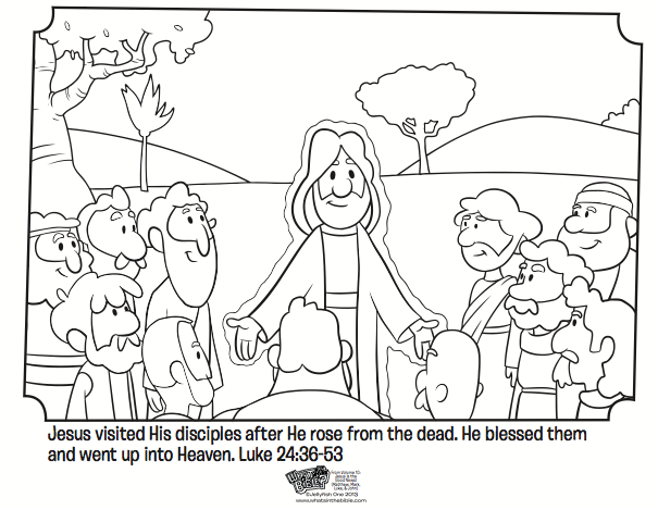 Calling Disciples Coloring Page | Coloring Page