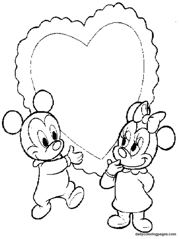 Free Disney Baby Character Coloring Pages - AZ Coloring Pages
