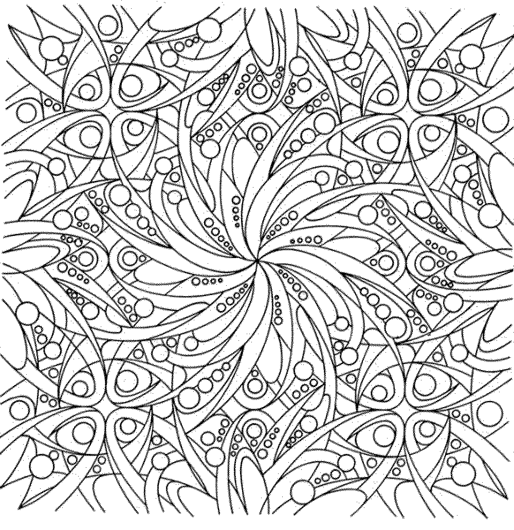Cool Flower Coloring Pages For Adults AZ Coloring Pages