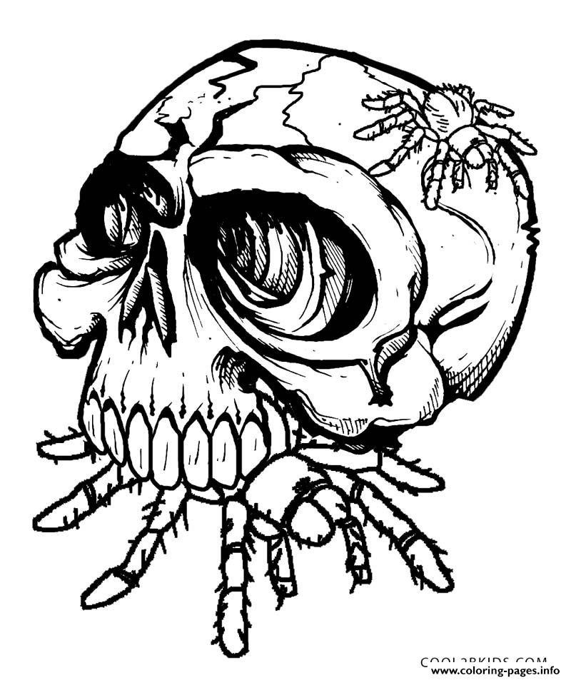 sugar skull with roses coloring pages az coloring pages