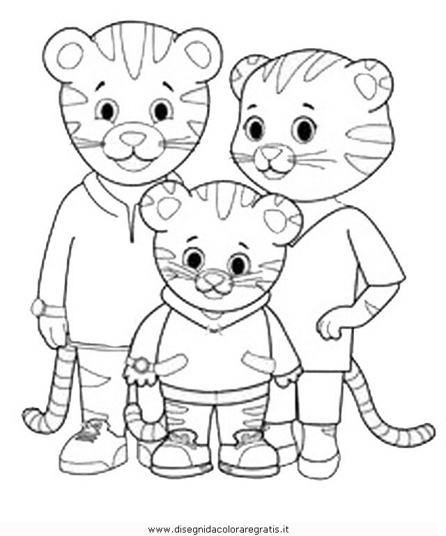 Free Printable Coloring Pages Daniel Tiger - High Quality Coloring ...