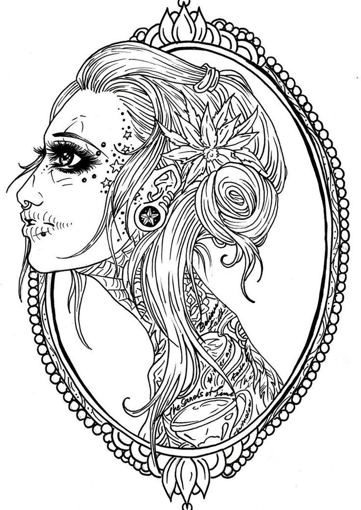 coloring pages sugar skull coloring home