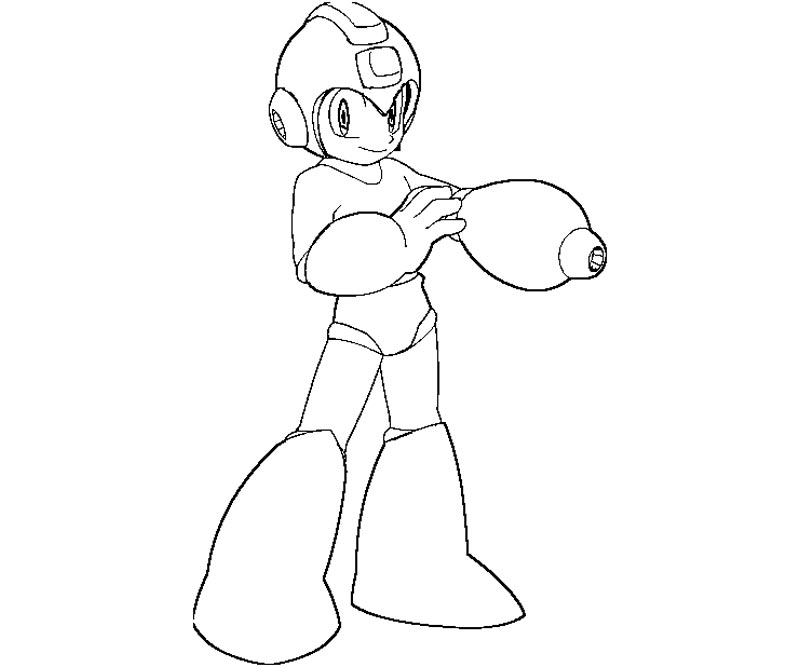 Coloring Pages Megaman Coloring