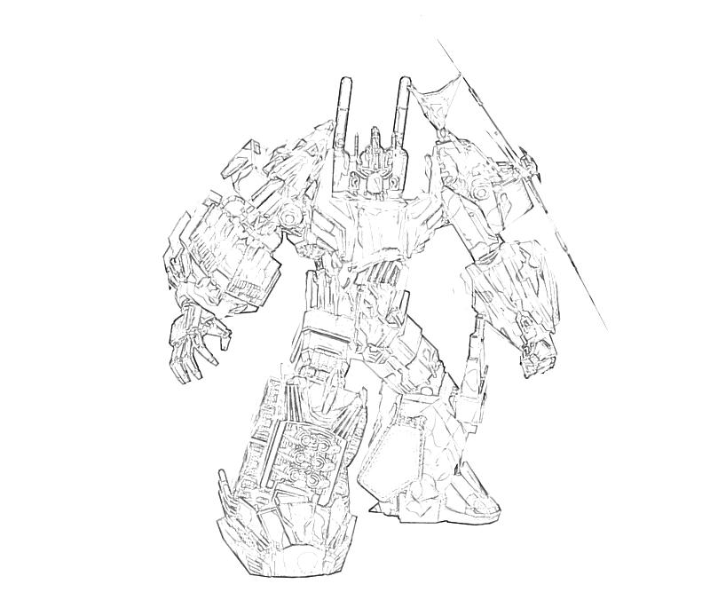 G Bruticus Coloring Page