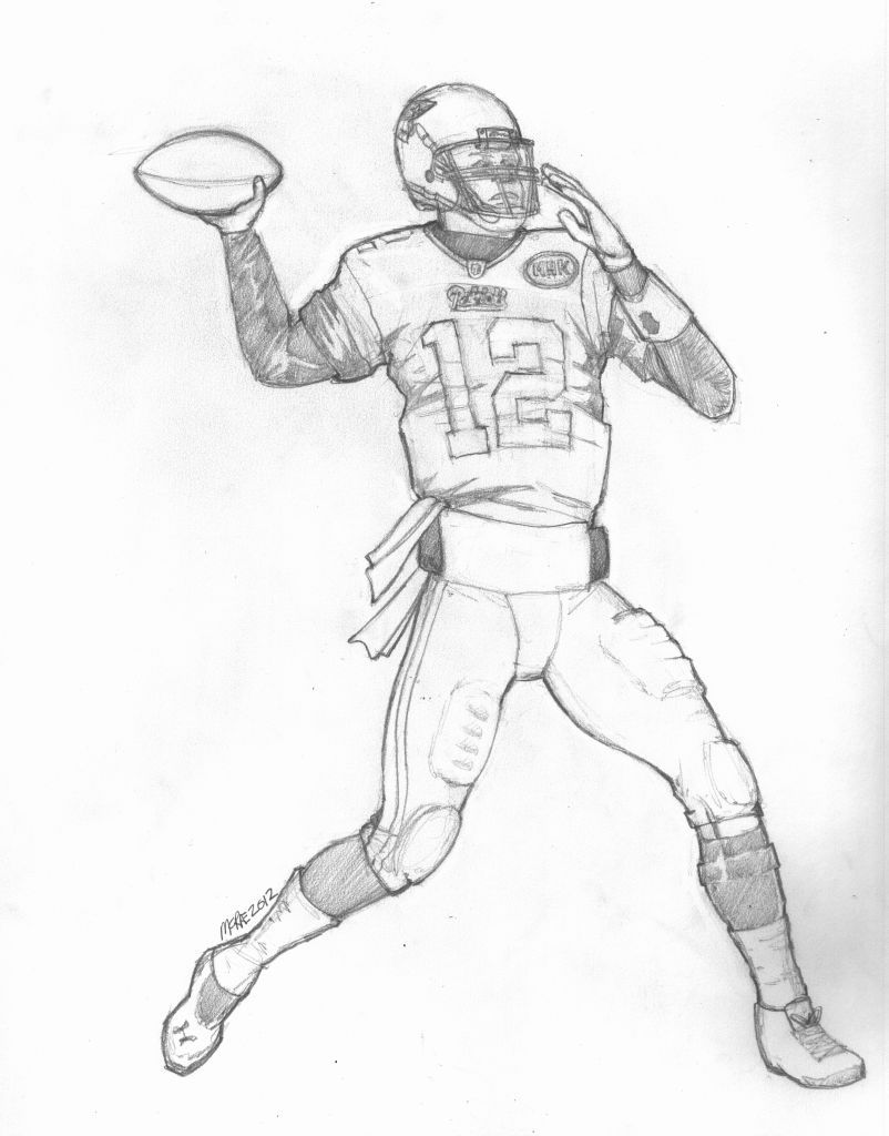 coloring pages of tom brady | Coloring Pages Of Tom Brady - Coloring Home