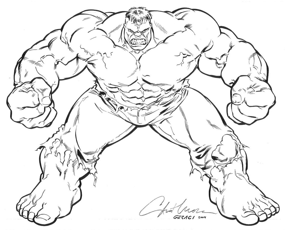 Red Hulk Coloring Pages - Coloring Home