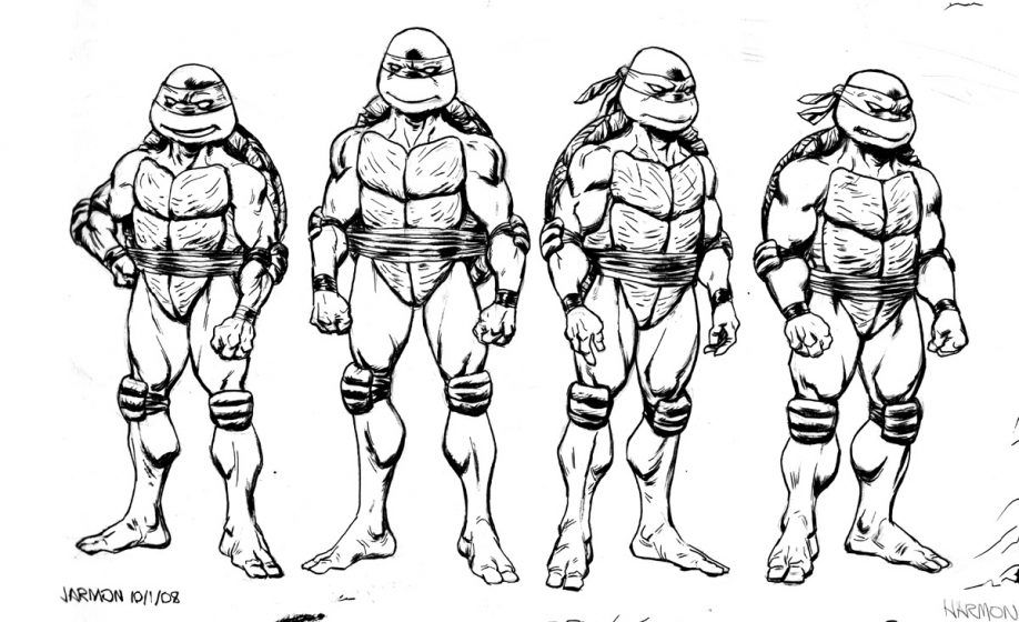 Leo Ninja Turtle Coloring Page - Coloring Home