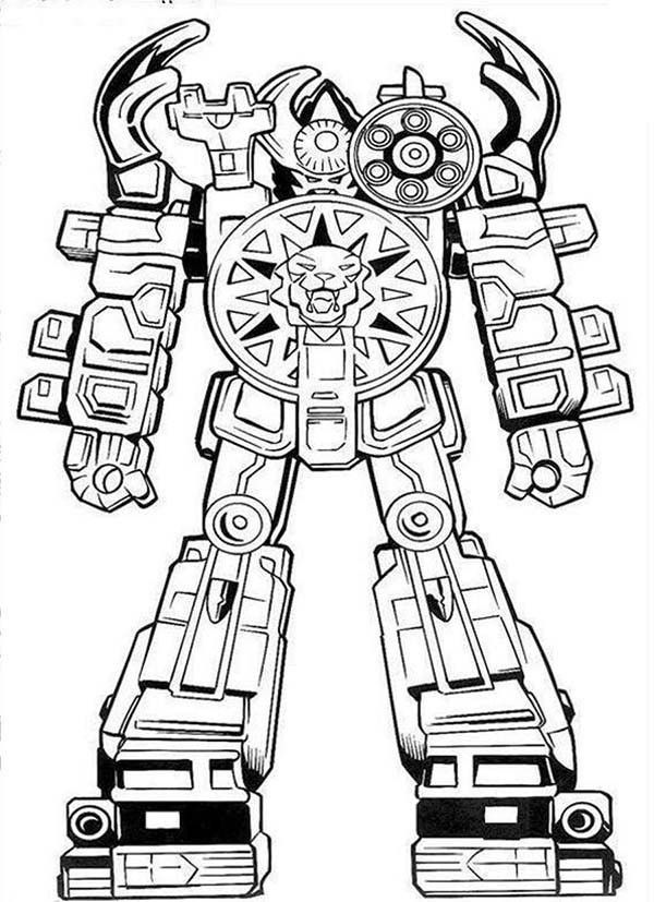 Coloring Pages Robot Coloring