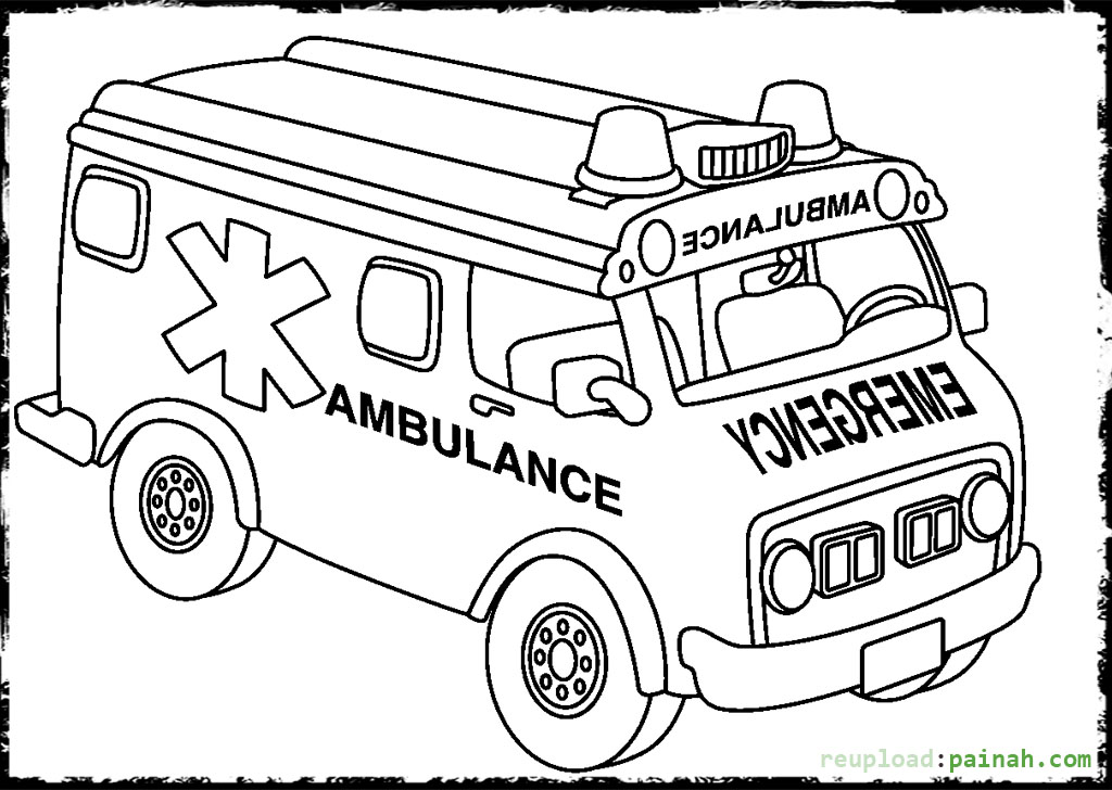 paramedics coloring pages for kids - photo#17