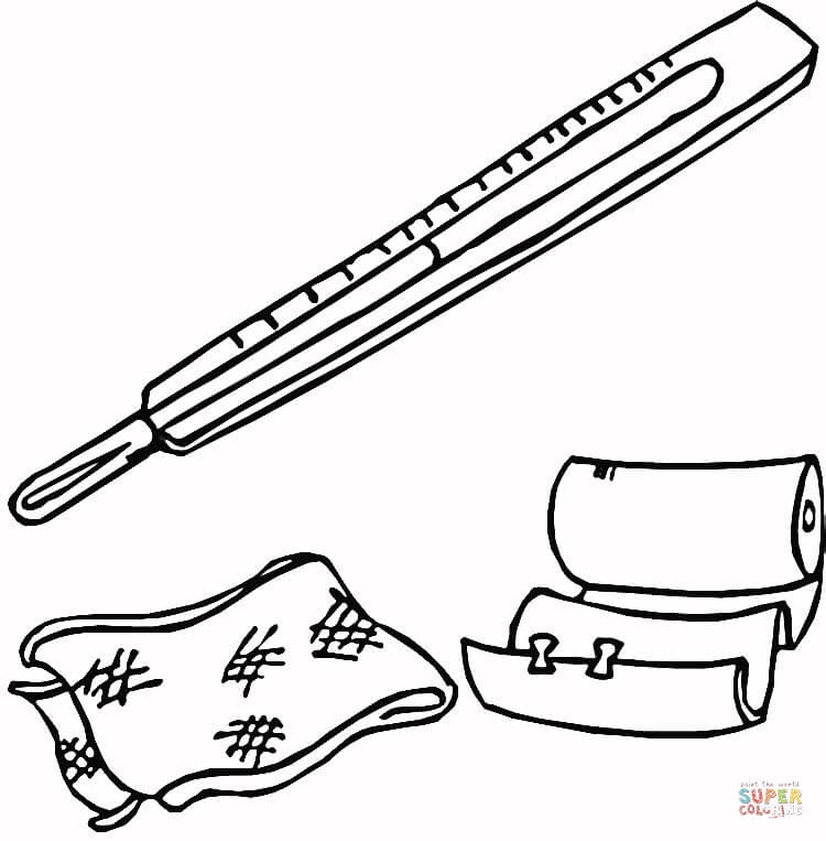Band Aid Coloring Page Coloring Home Band Aid Coloring Page