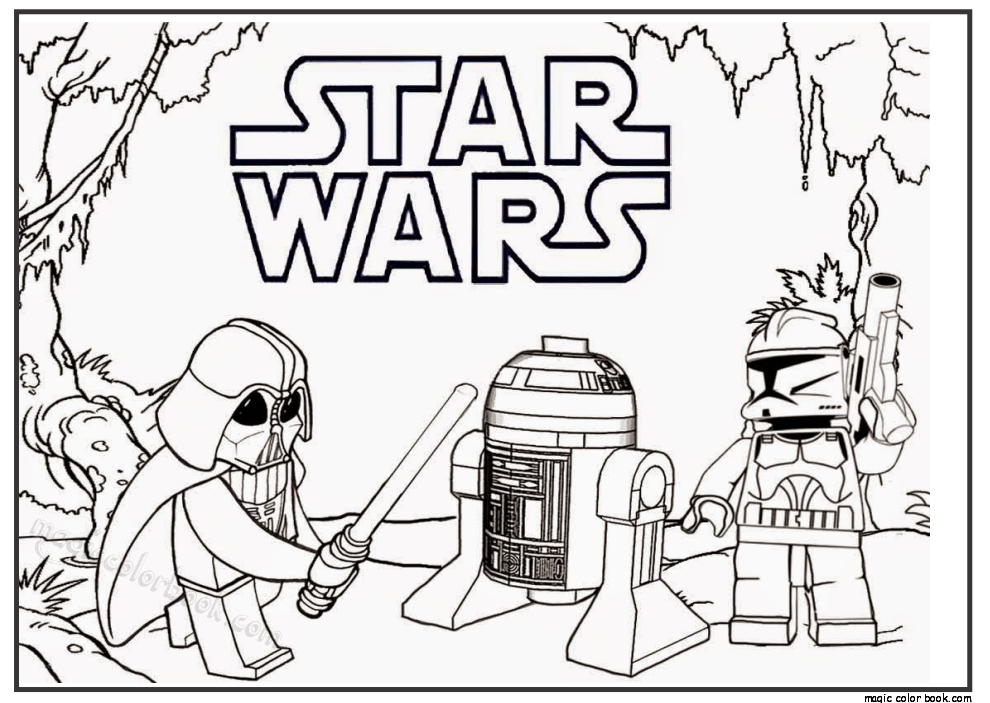 Star Wars Free Printable Coloring Pages - Coloring Home