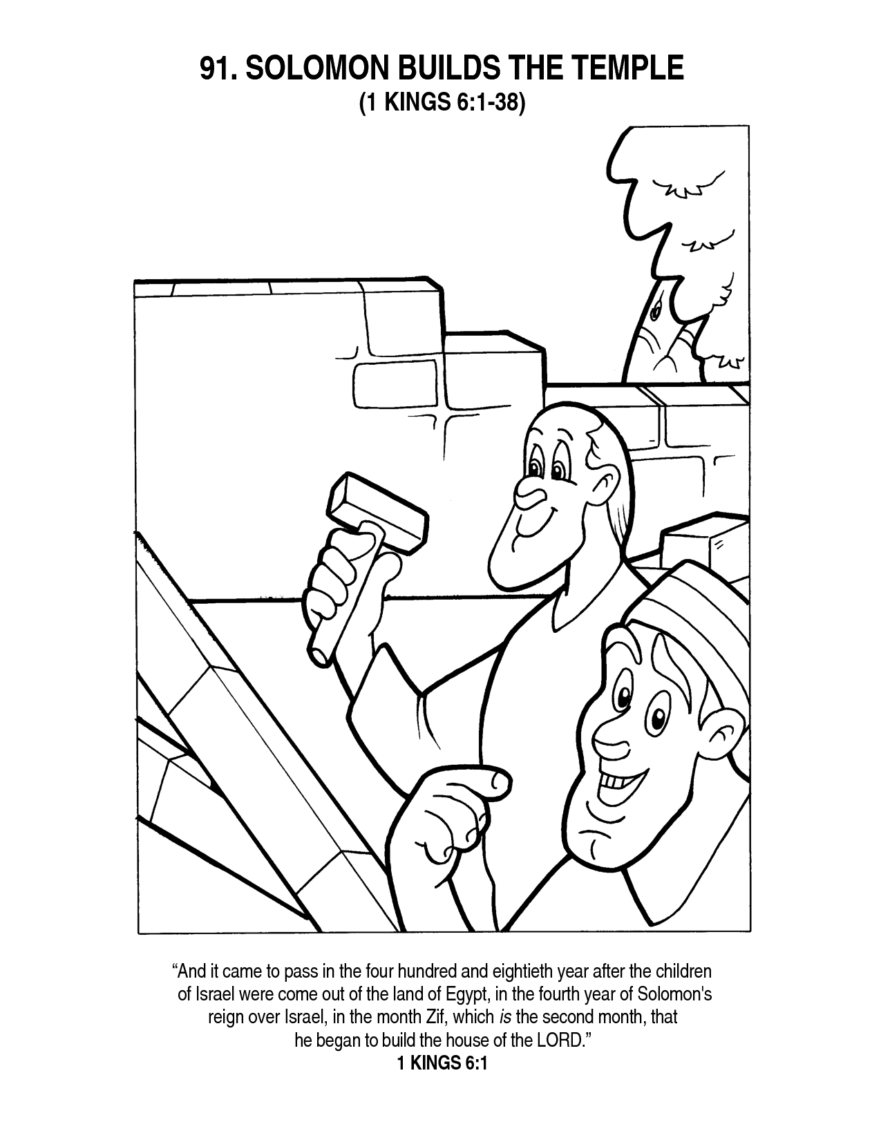 7 Pics of Solomon Coloring Pages - King Solomon Coloring Page ...