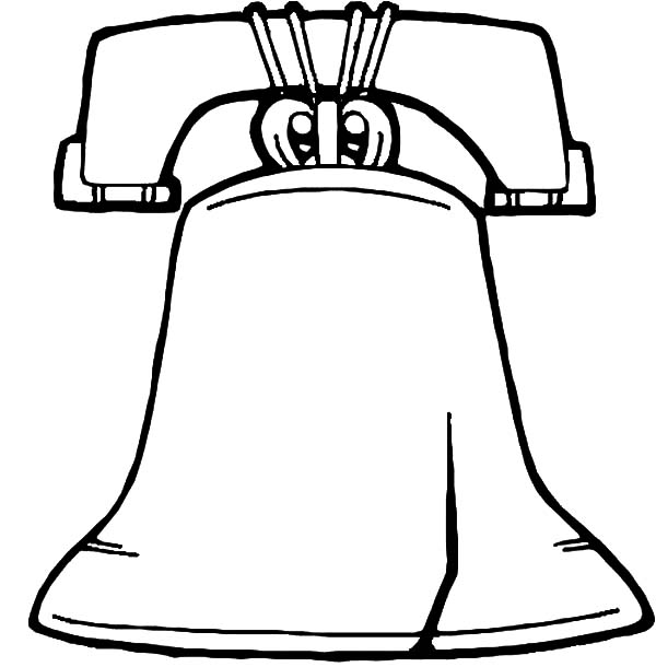 Liberty Bell Coloring Page Az Coloring Pages Liberty Bell Coloring Page