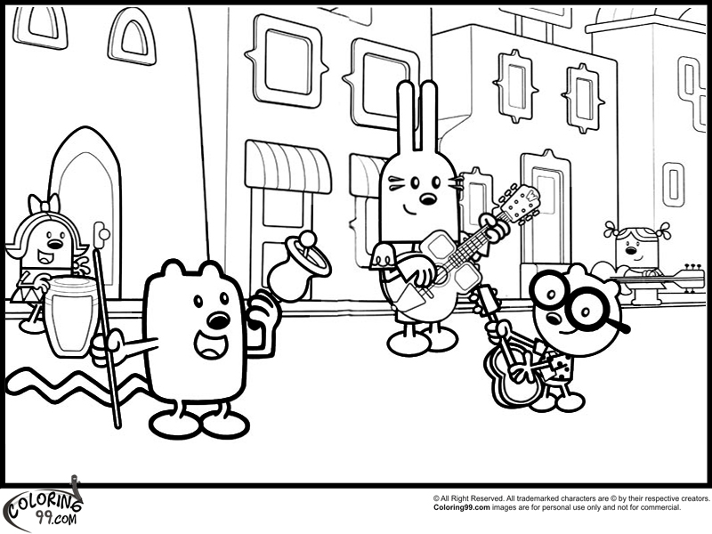 wa wa wubbzy coloring pages - photo #41