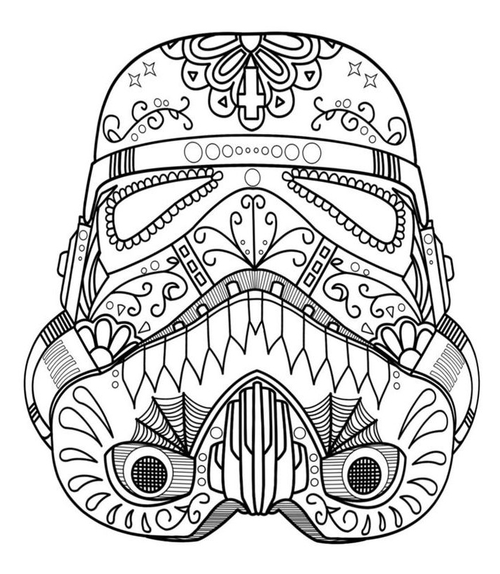 Sugar Skull Coloring Page Home