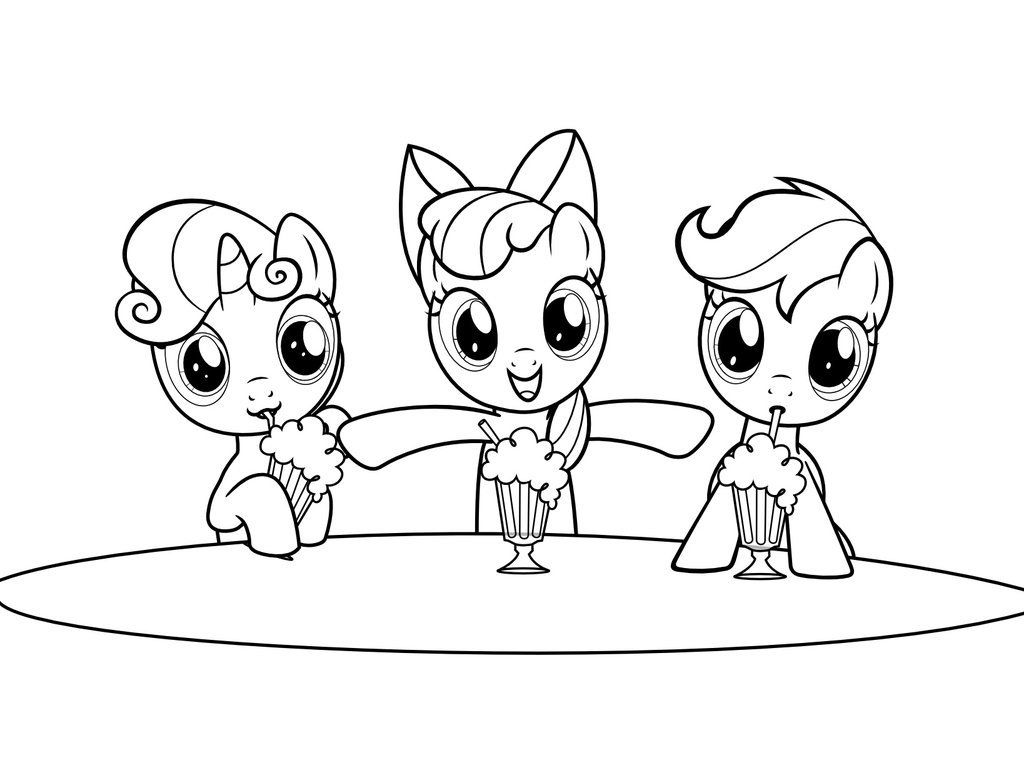 Coloring pages pony printable - Coloring Wonderful My Little Pony Coloring Pages Incredible Coloring