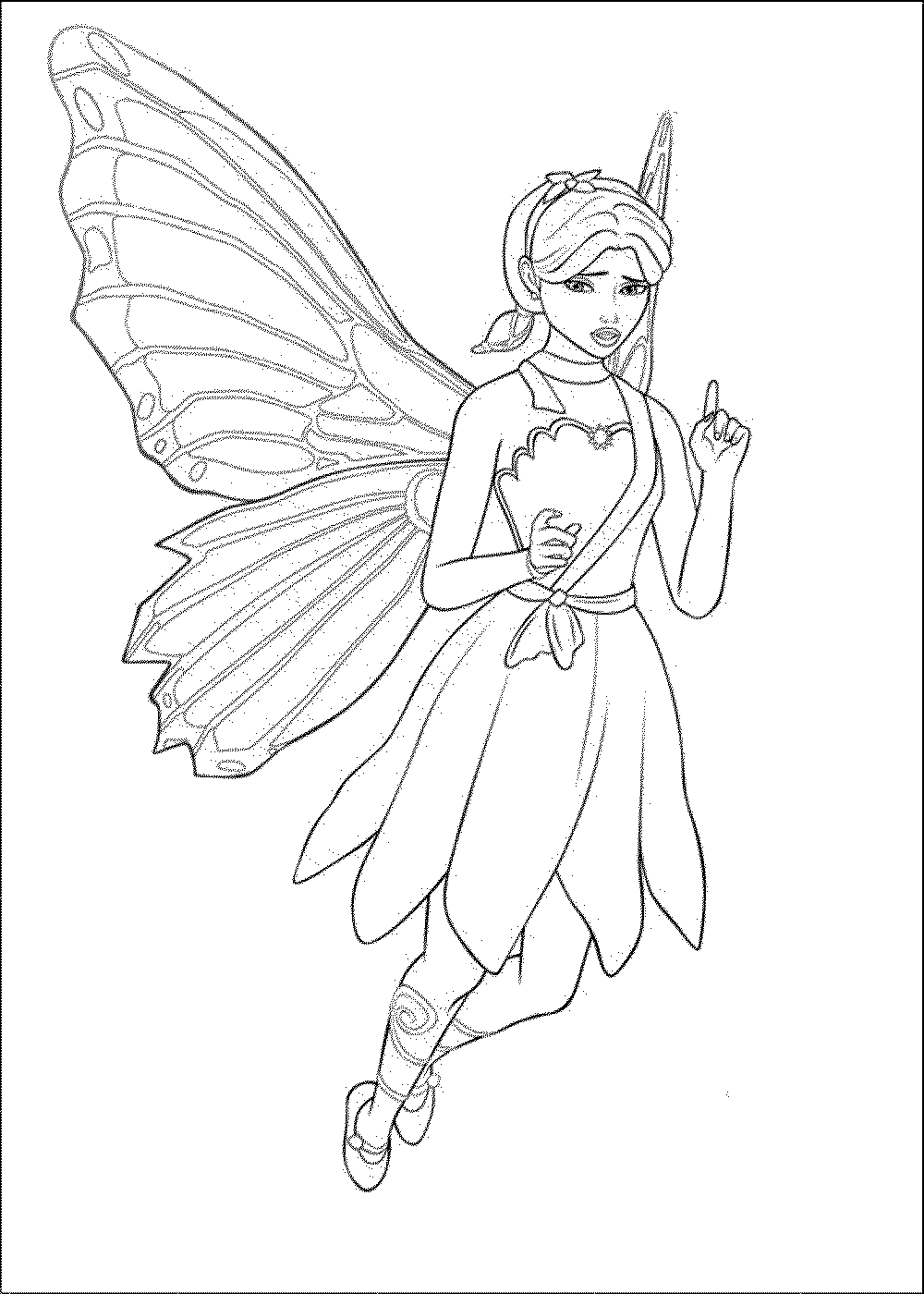 Barbie Doll Coloring Pages  Printable Kids Colouring Pages