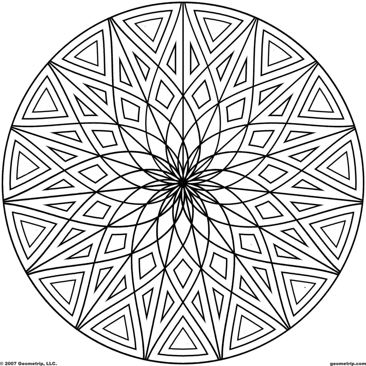 Coloring Pages Of Cool Designs - Coloring Home