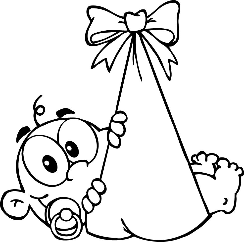 Newborn Baby Coloring Pages Welcome - ClipArt Best - ClipArt Best