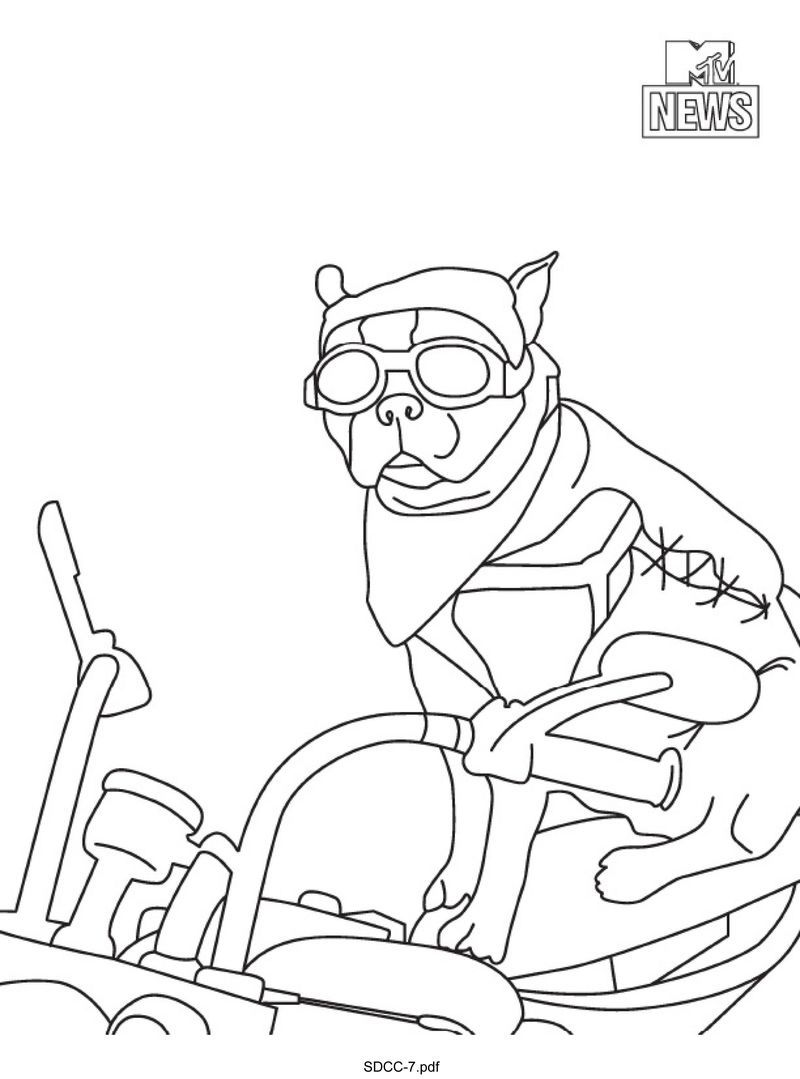 victorious coloring pages to print - photo#32