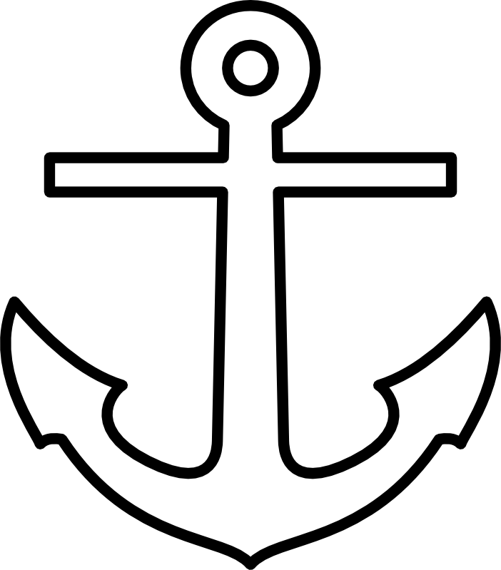 9 pics of boat anchor coloring page free anchor coloring pages