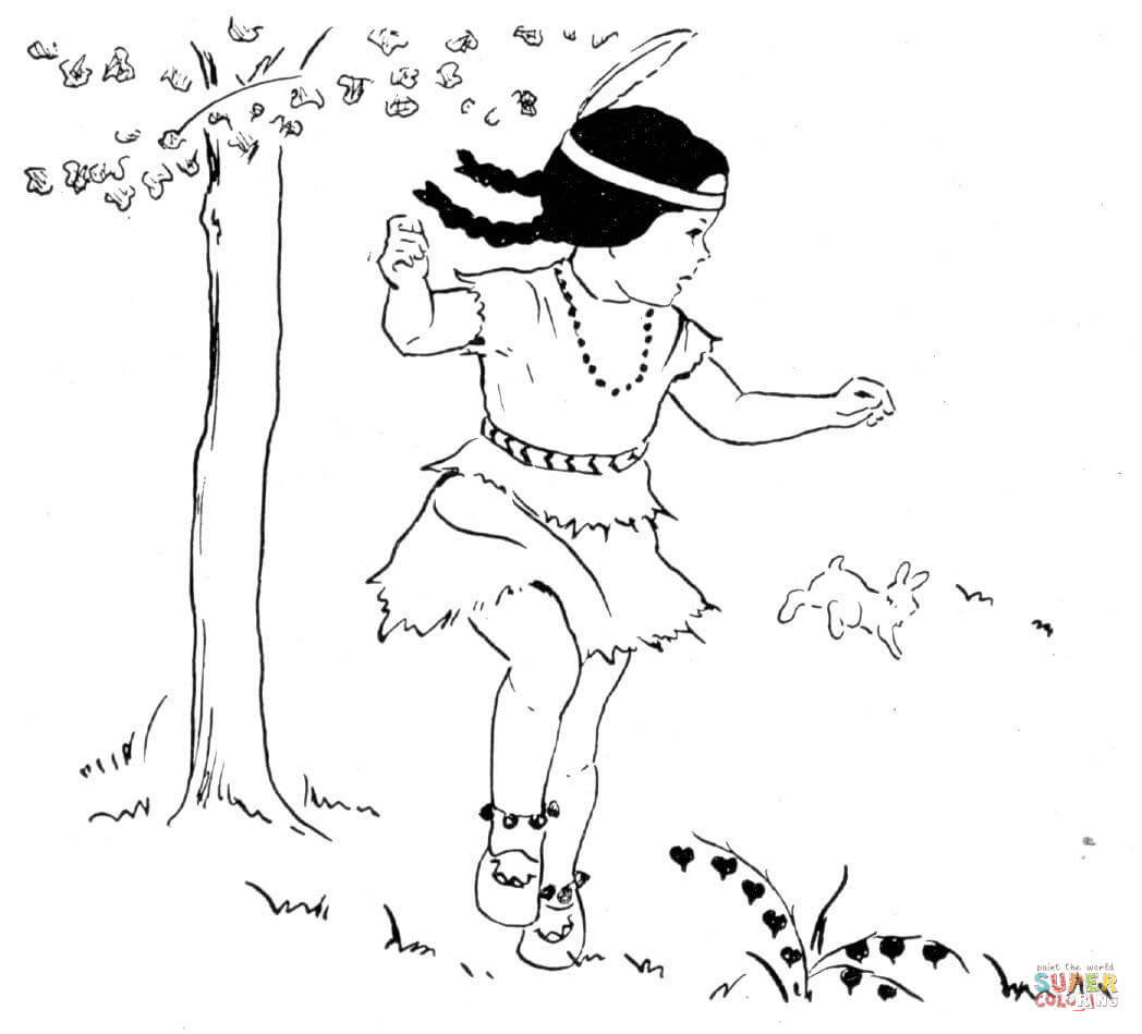 first nations coloring pages - photo#28