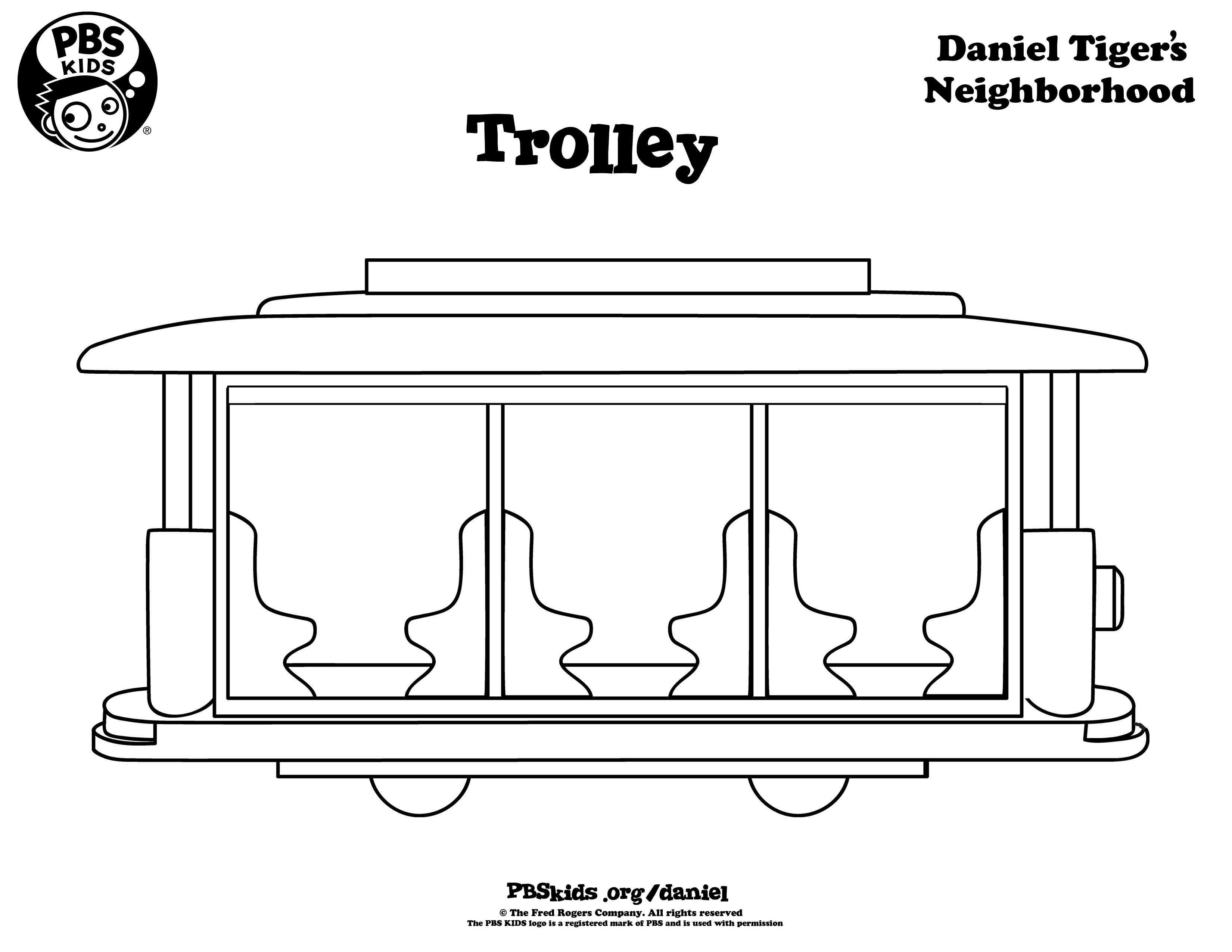 Daniel Tiger Coloring Book - Coloring Style Pages - Coloring Home