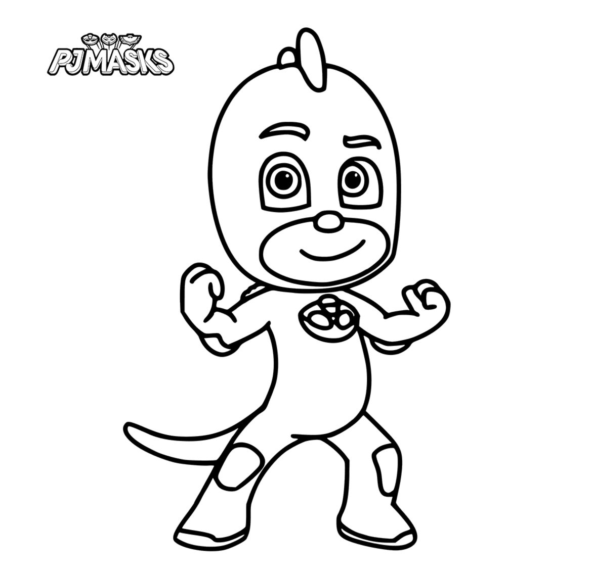photograph about Printable Pj Masks Coloring Pages known as PJ Masks Coloring Webpages - Coloring Household