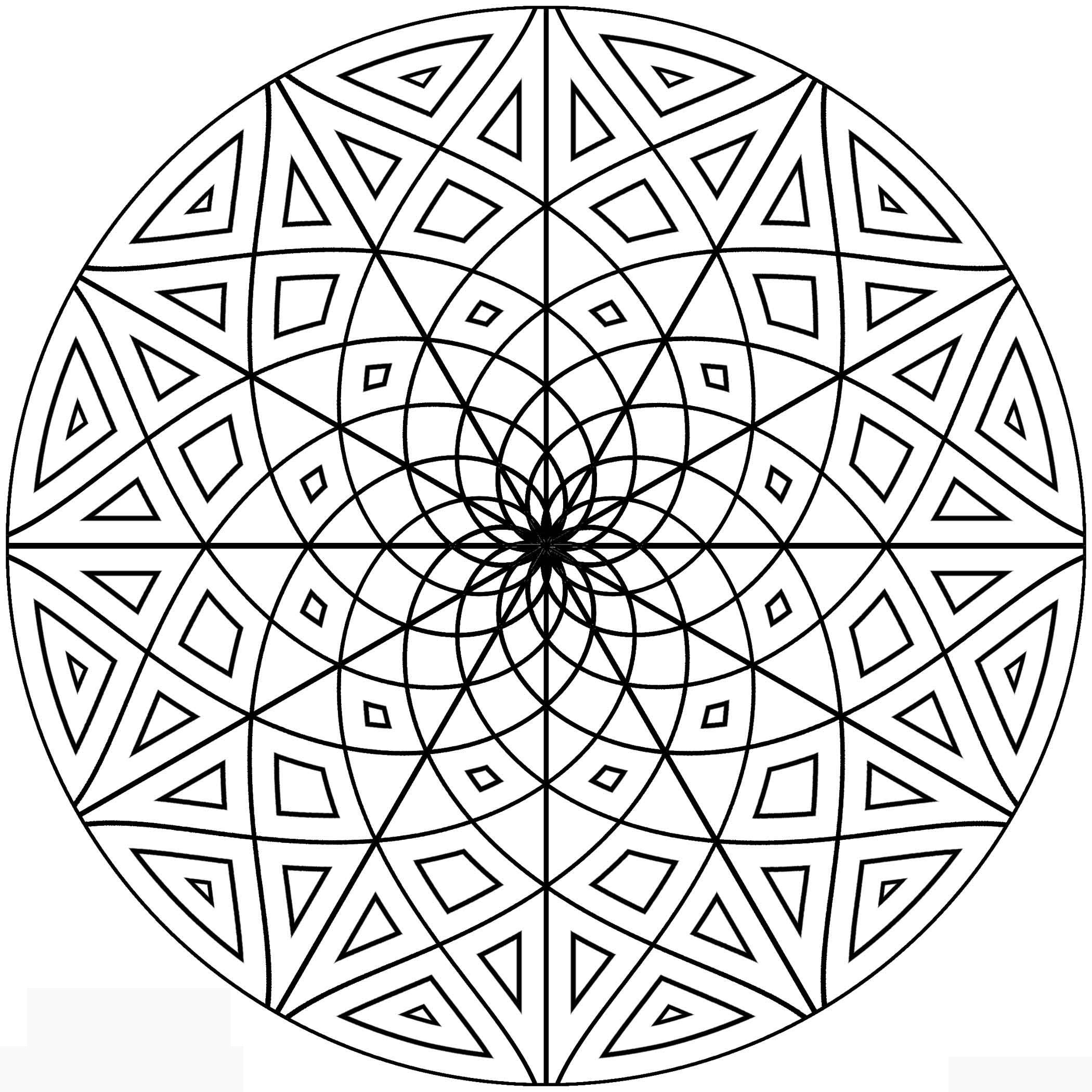Coloring Pages Online Mandala Coloring Pages mandala online coloring pages futpal com auromas