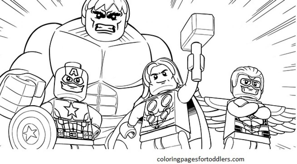Lego Marvel Avengers Coloring Pages - Coloring Home