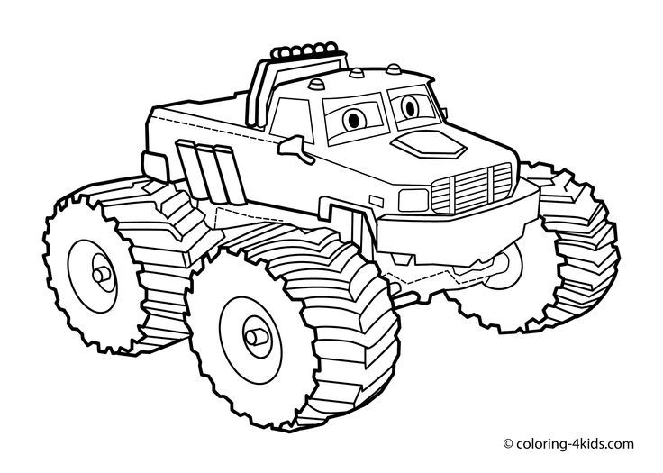 monster jam 2013 coloring pages - photo#21