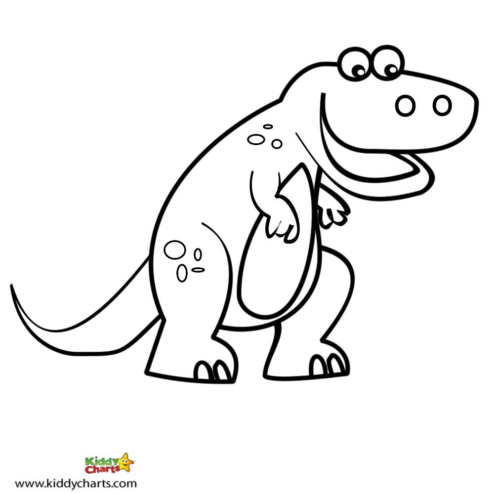 cute dinosaur coloring pages coloring home