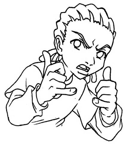 boondocks coloring pages coloring home