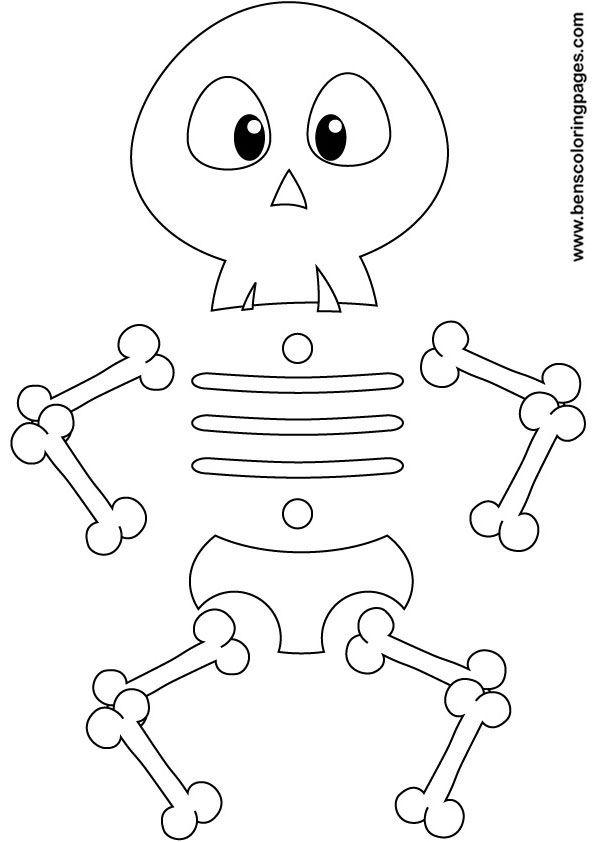 bones coloring pages - photo#38