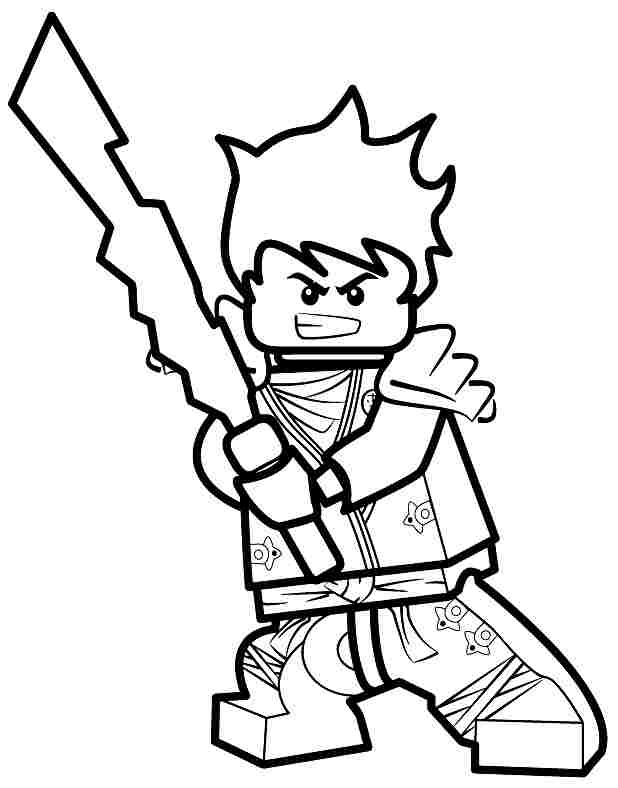 Ninjago Coloring Pages Jay Coloring Home